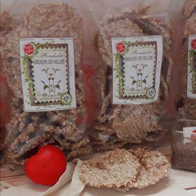 Heljdini krekeri 150g