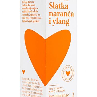 Najfinija krema za ruke Slatka naranča i ylang
