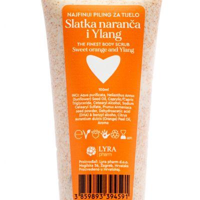 Najfiniji piling za tijelo Slatka naranča i ylang