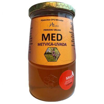 Med metvica - livada 900 g