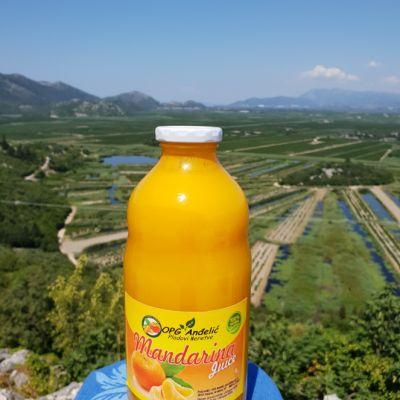 Prirodni sok 100% Mandarina 1l