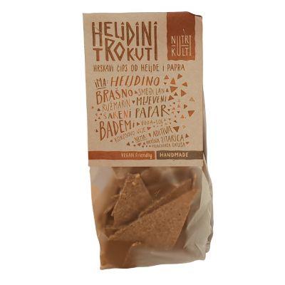 Heljdini trokuti, čips od heljdinog brašna