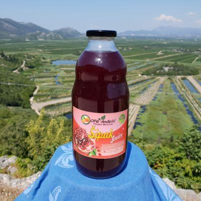 Prirodni sok 100% Šipak 1l