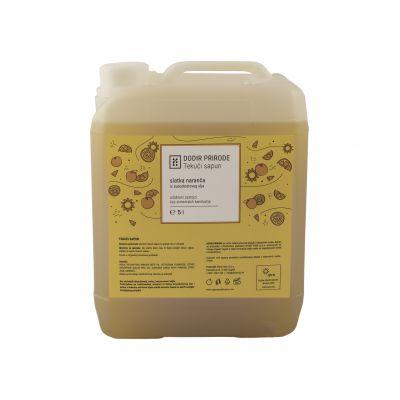 DODIR PRIRODE tekući sapun - slatka naranča 5 L
