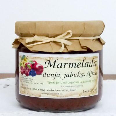 Marmelada dunja, jabuka, šljiva 330g