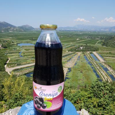 Prirodni sok 100% Aronija 1L
