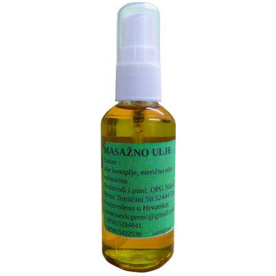 Masažno ulje konoplje Ružmarin 50 ml