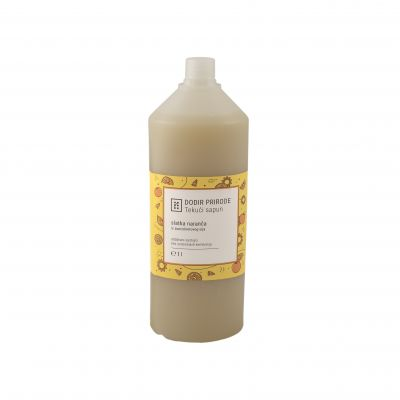 DODIR PRIRODE tekući sapun - slatka naranča 1 L