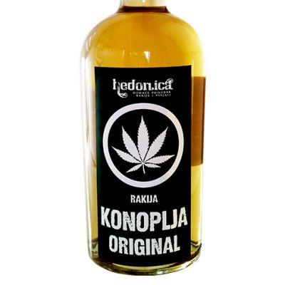 Hedonica rakija Konoplja Original 0,5l