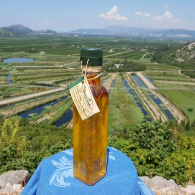 Maslinovo ulje - aroma chilli papričice 0.25L
