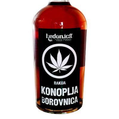Hedonica rakija Borovnica 0,5l