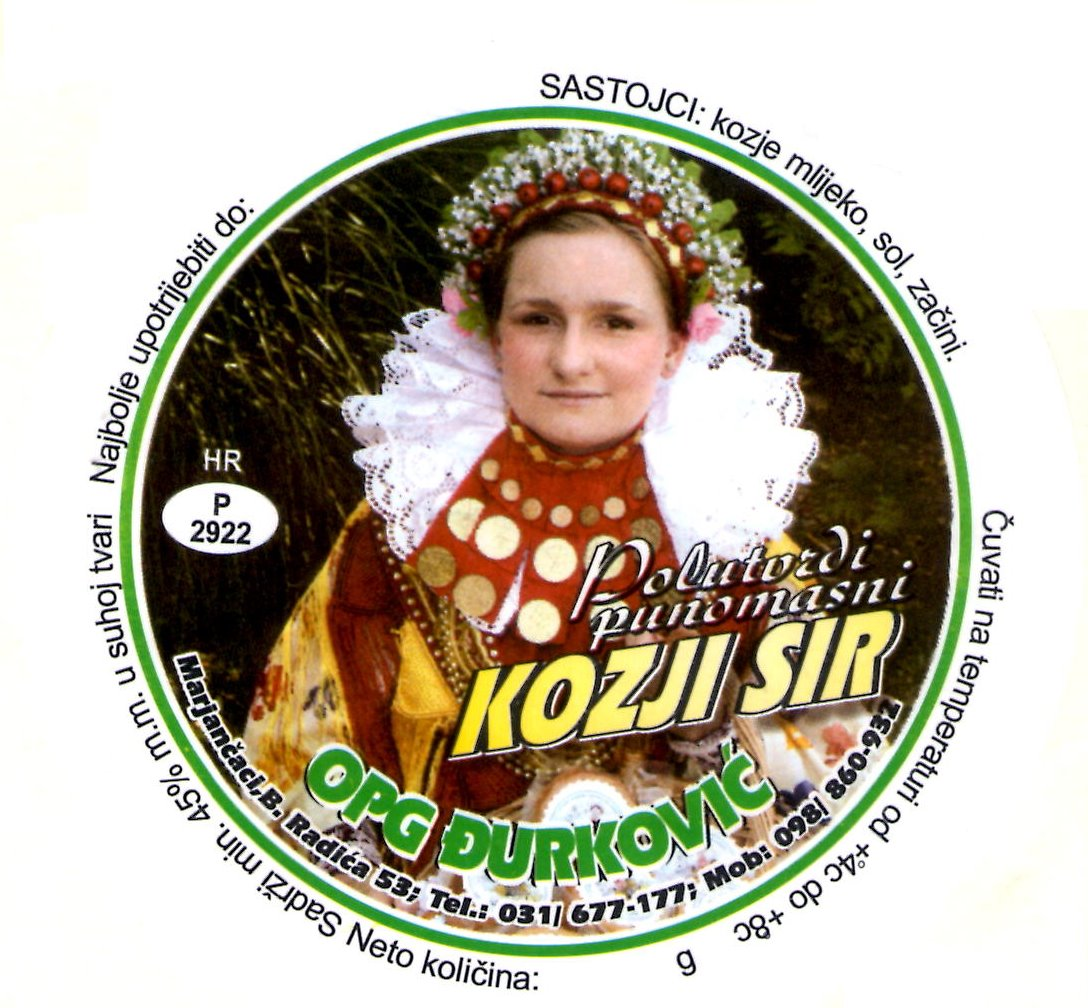 Kozji sir OPG Đurković